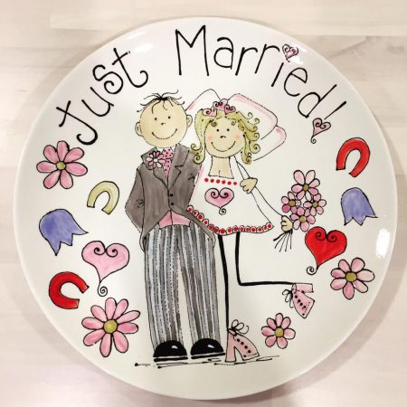 WEDDING PLATE